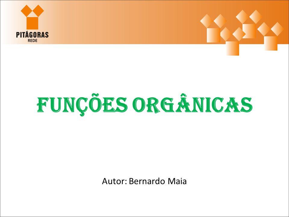 Compostos Orgânicos Os compostos orgânicos possuem algumas funções assim como nos inorgânicos.