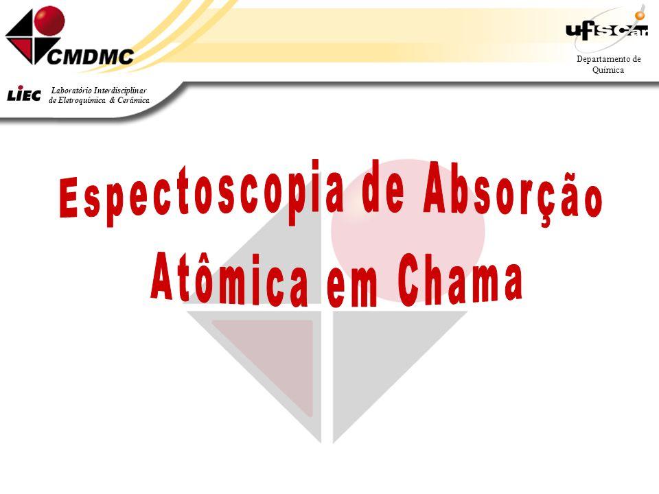 Departamento de Química Laboratório Interdisciplinar de Eletroquímica & Cerâmica