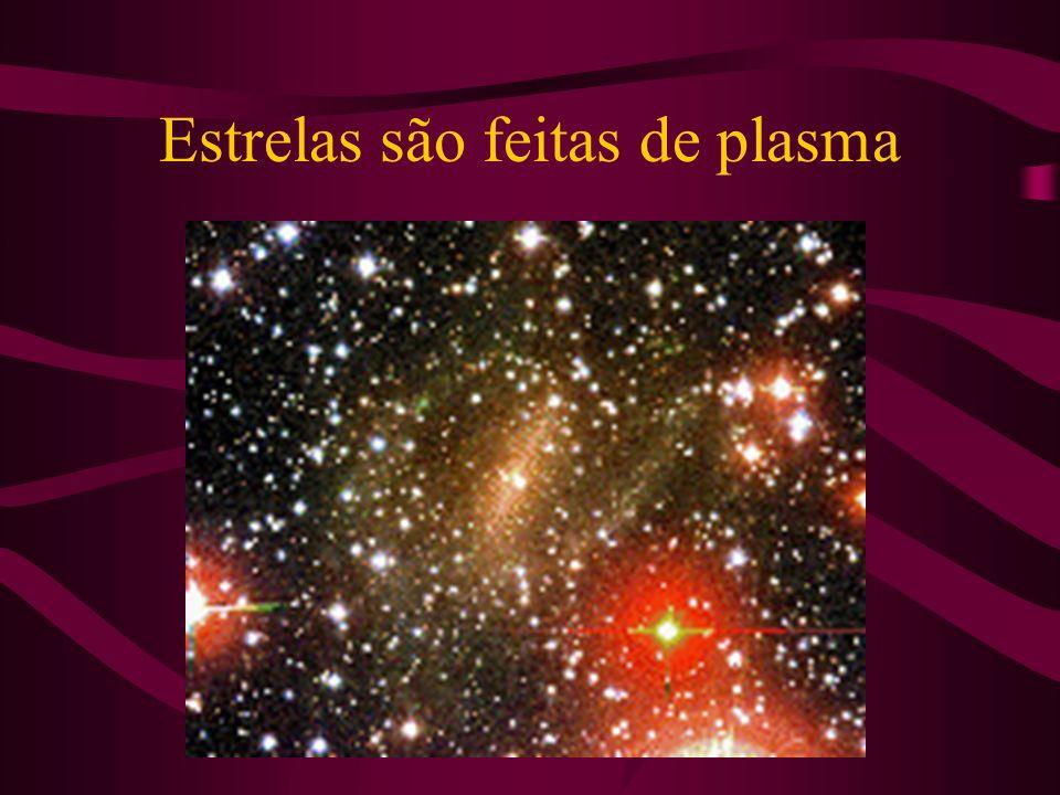 Estrelas são feitas de plasma