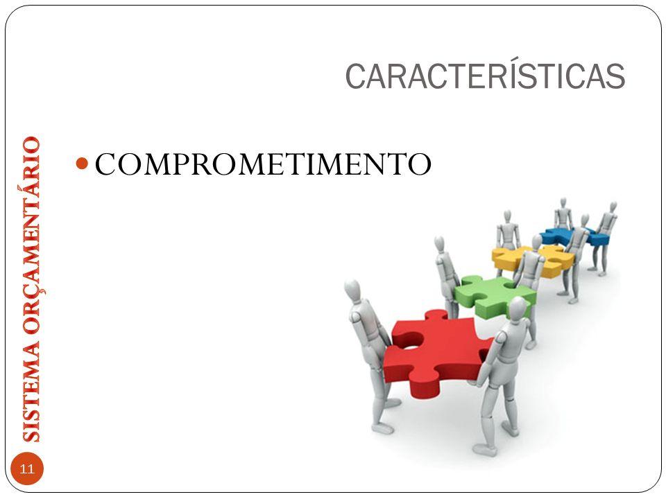 CARACTERÍSTICAS COMPROMETIMENTO 11