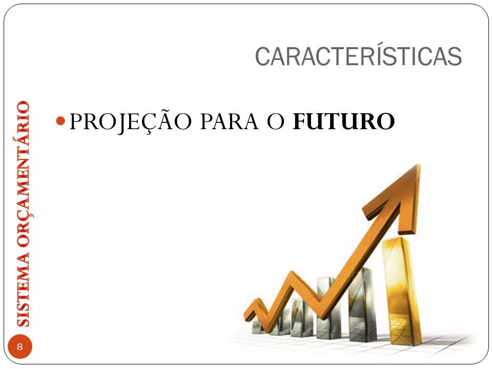CARACTERÍSTICAS PROJEÇÃO PARA O FUTURO 8