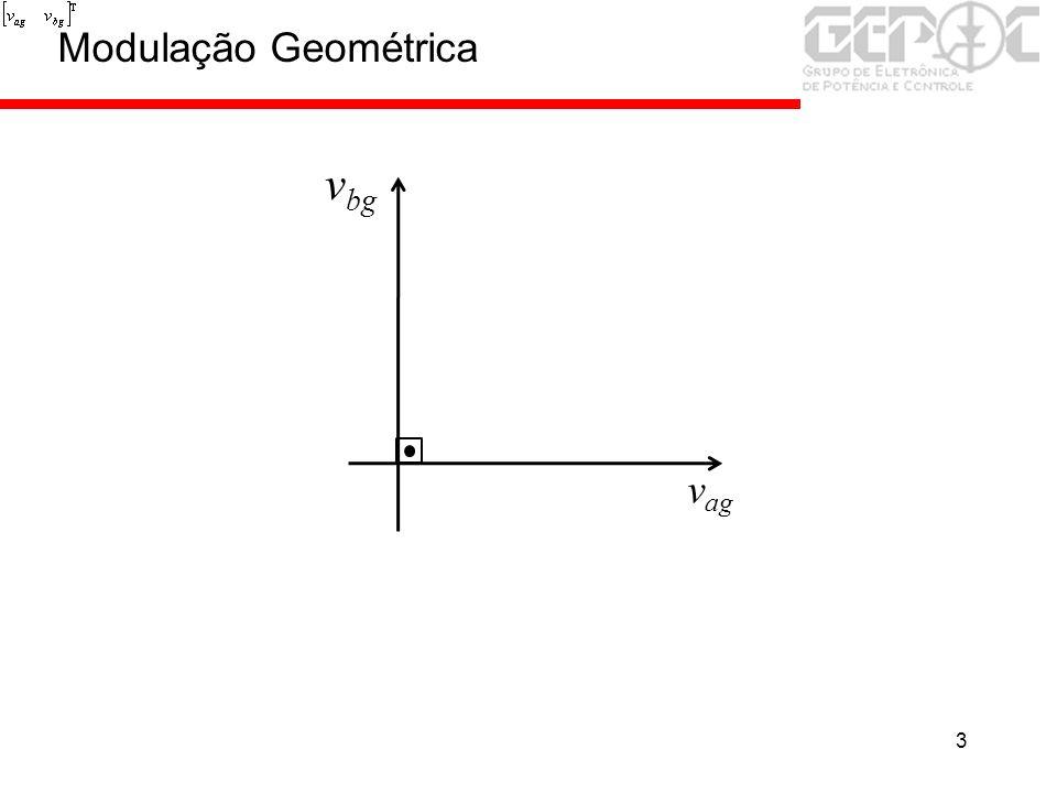3 v ag v bg Modulação Geométrica
