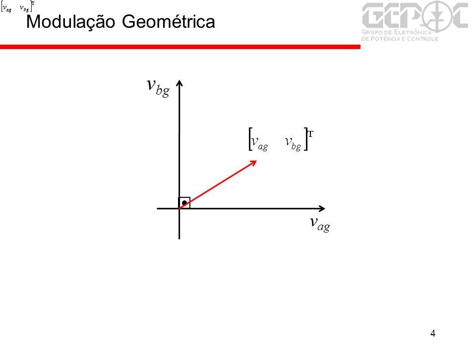 4 v ag v bg Modulação Geométrica
