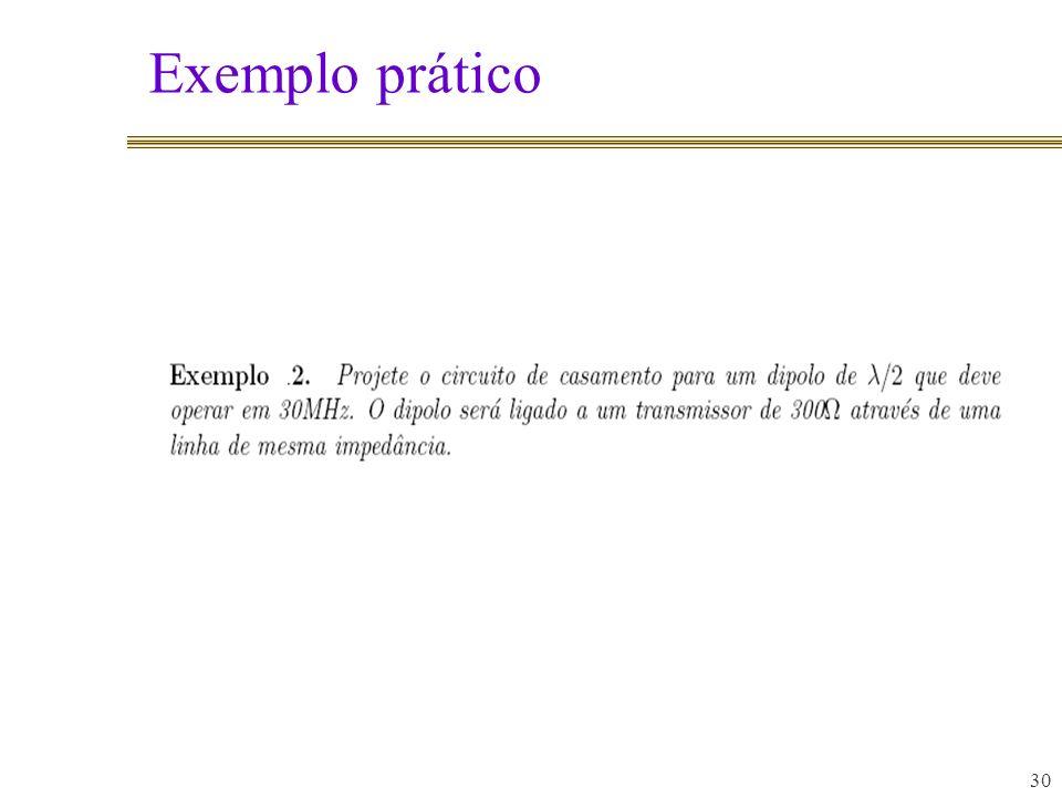 Exemplo prático 30