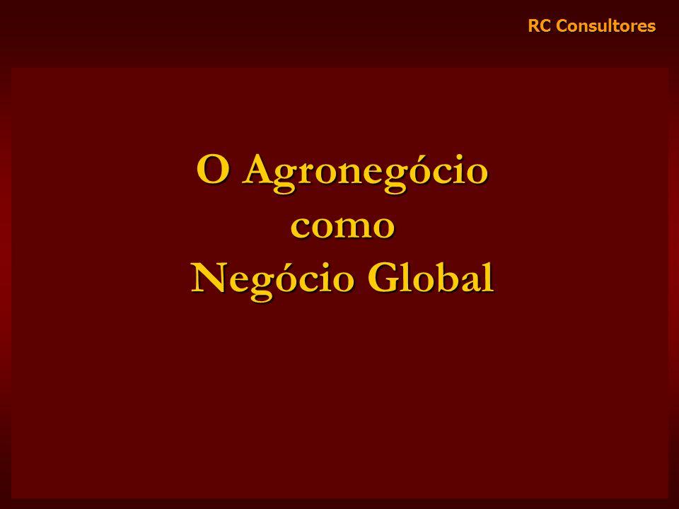 RC Consultores O Agronegócio como Negócio Global