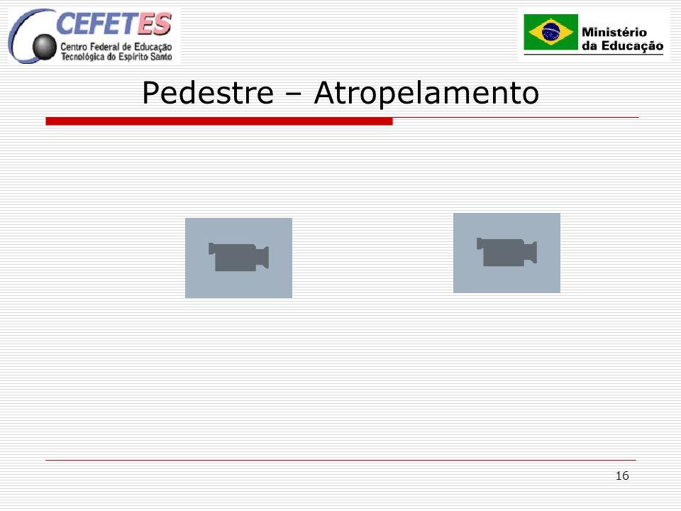16 Pedestre – Atropelamento