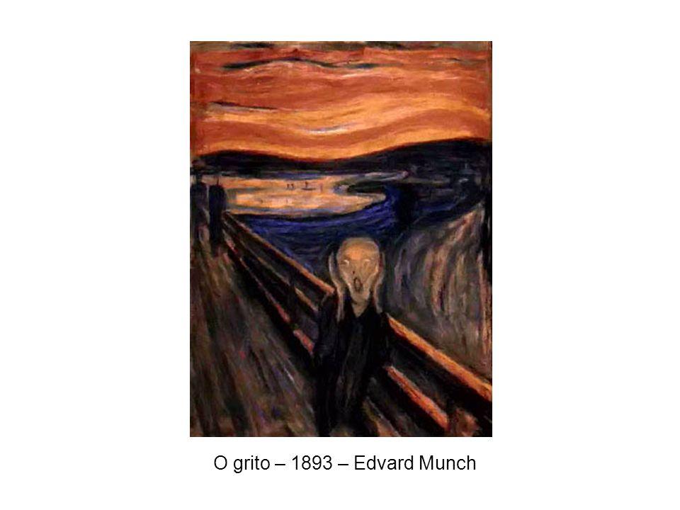 O grito – 1893 – Edvard Munch