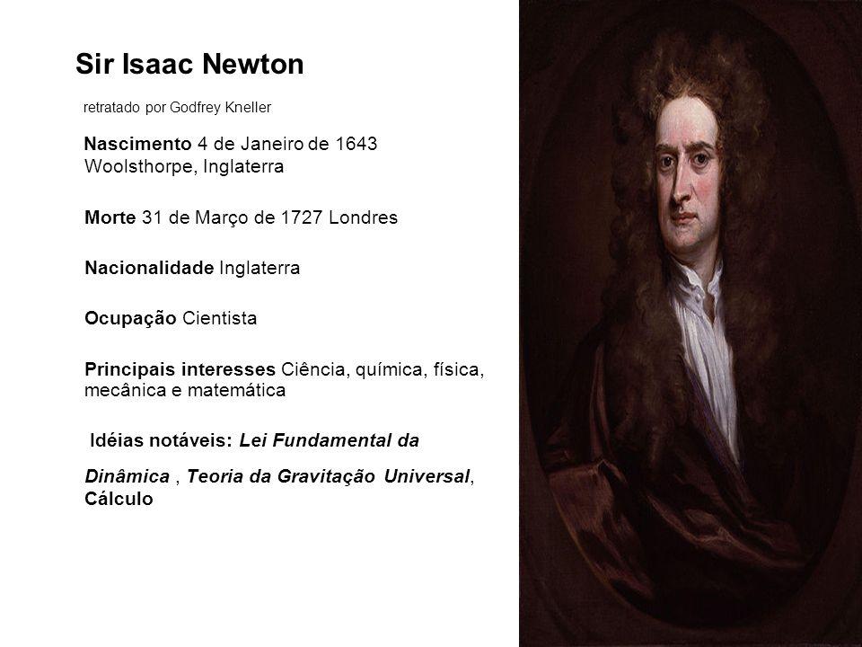 Continuação 2ª Lei de Newton F = m.a F deve ser a força resultante.
