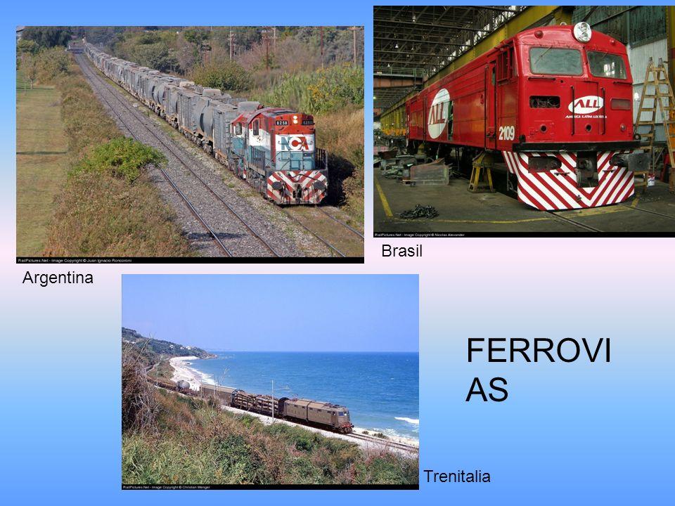 Argentina Brasil Trenitalia FERROVI AS