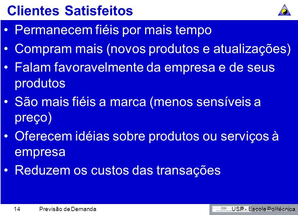 USP - Escola PolitécnicaPrevisão de Demanda13 Rede de Entrega de Valor da Levi Strauss A concorrência é entre redes, não entre empresas. Sai ganhando