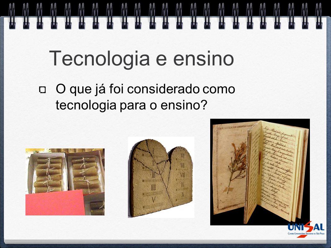 Pergunta 03 Escolha a tecnologia/metodologia que você nunca utilizaria em sala de aula: 1.