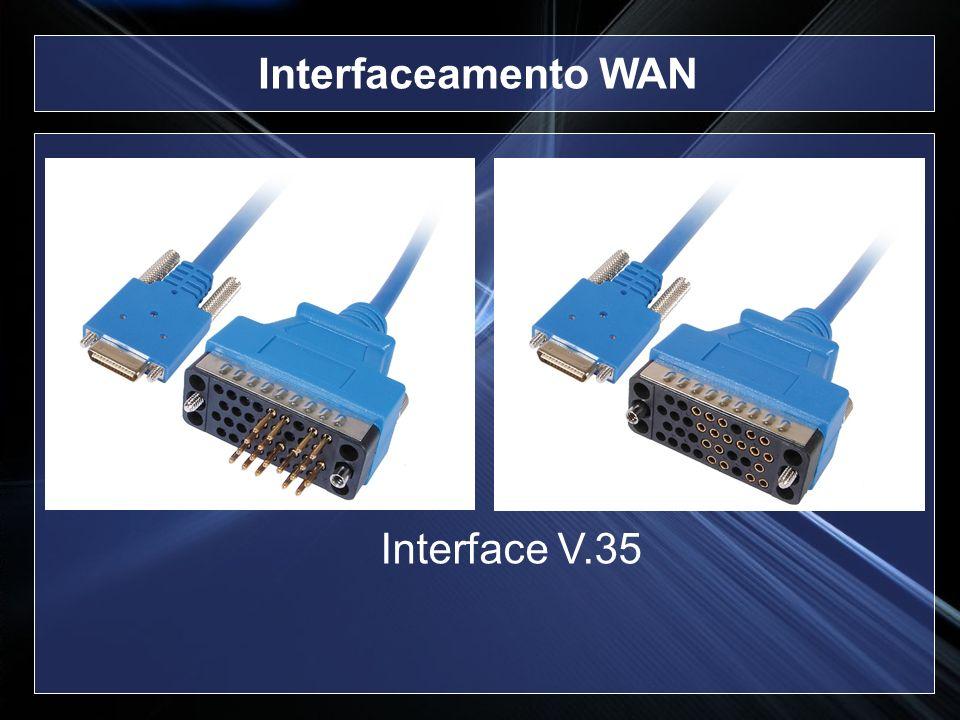 Interface V.35 Interfaceamento WAN