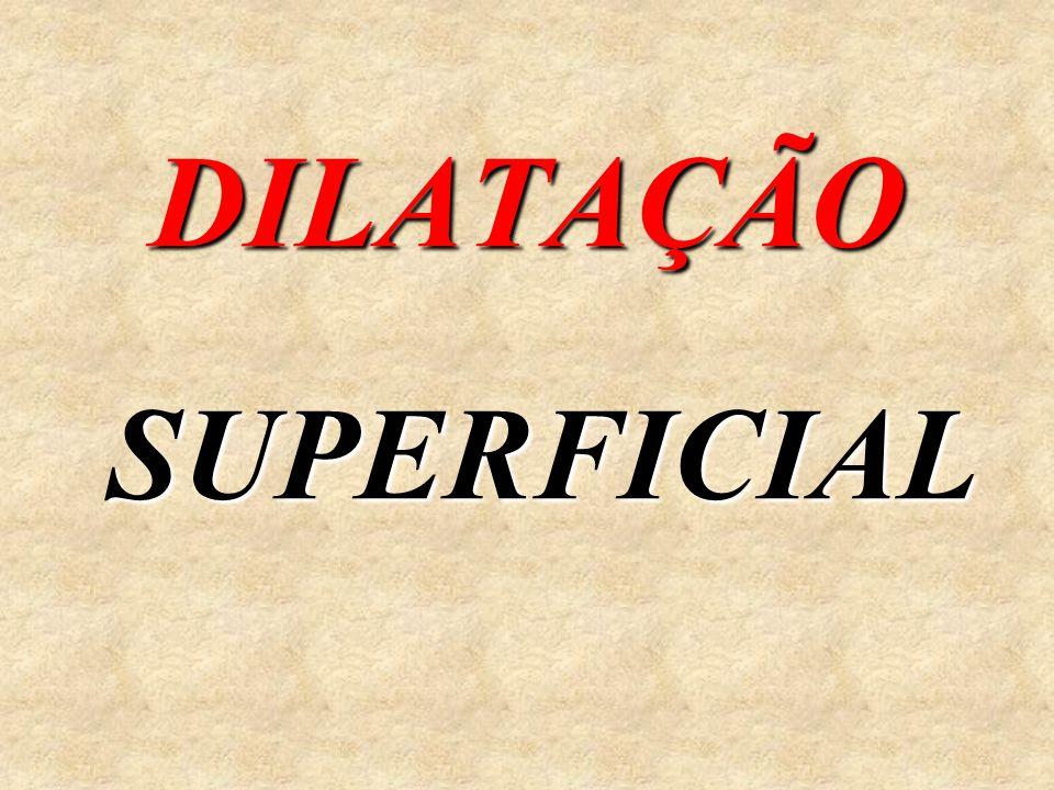 DILATAÇÃO SUPERFICIAL