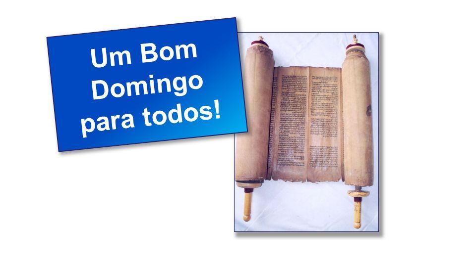 Classe Visão Bíblica IPJG - 2011 Um Bom Domingo para todos!
