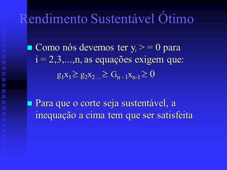 Como nós devemos ter y i > = 0 para i = 2,3,...,n, as equações exigem que: Como nós devemos ter y i > = 0 para i = 2,3,...,n, as equações exigem que: