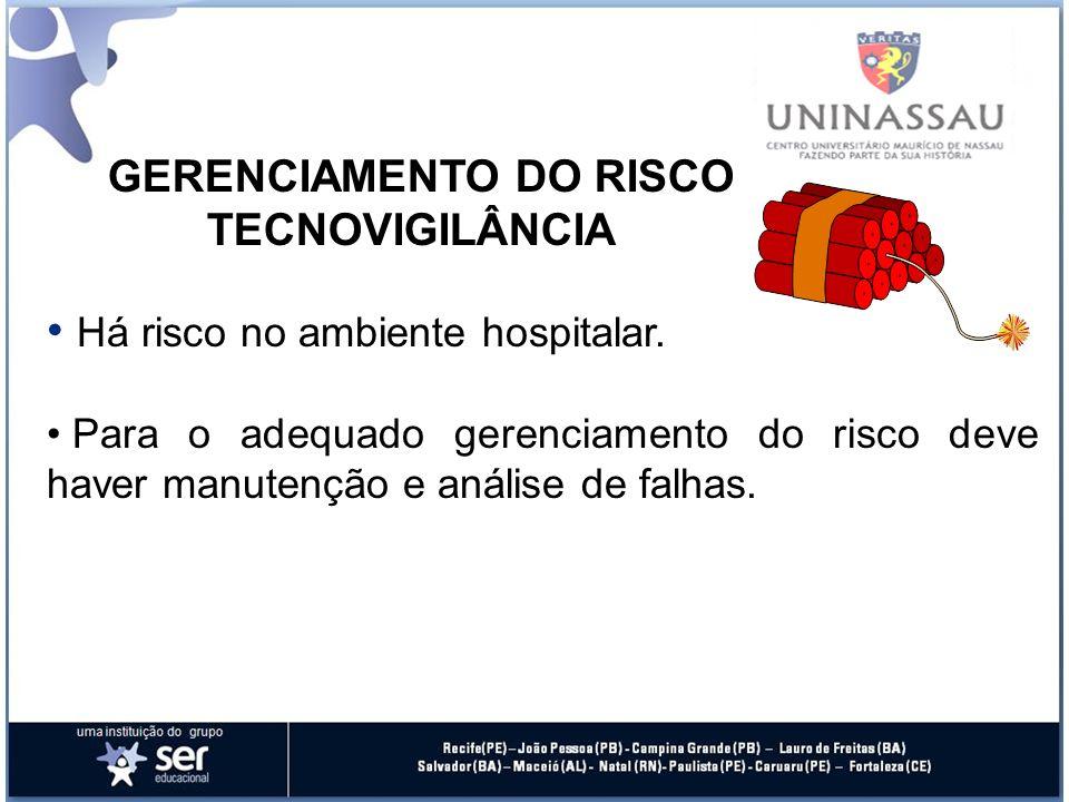 Acompanhamento de serviços de terceiros Gerenciamento do risco - Tecnovigilância