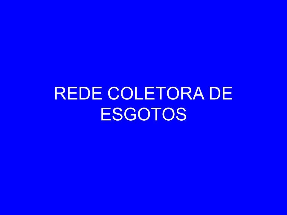 REDE COLETORA DE ESGOTOS