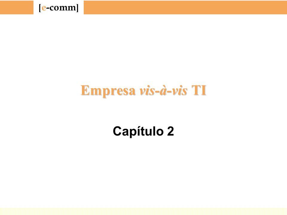 [ e-comm ] Empresa vis-à-vis TI Capítulo 2