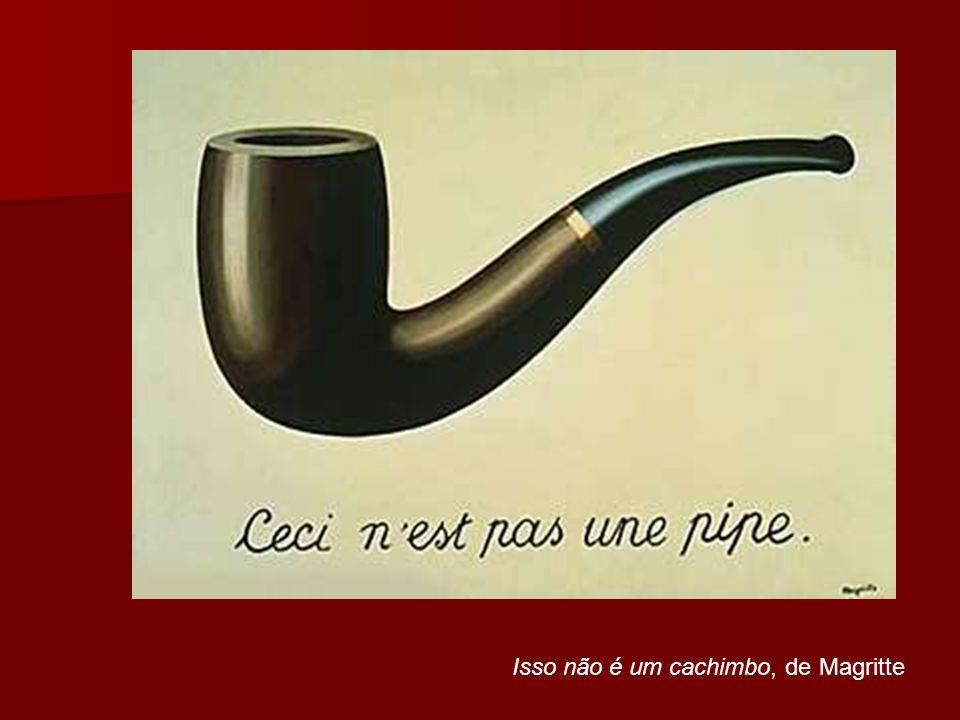 Isso não é um cachimbo, de Magritte