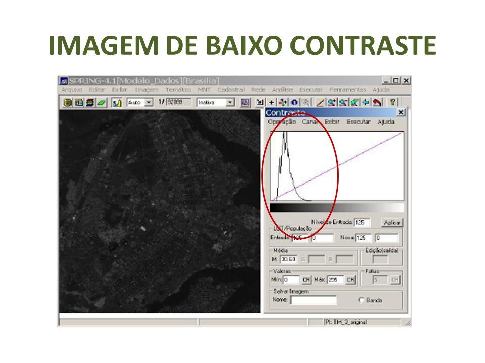 IMAGEM DE BAIXO CONTRASTE