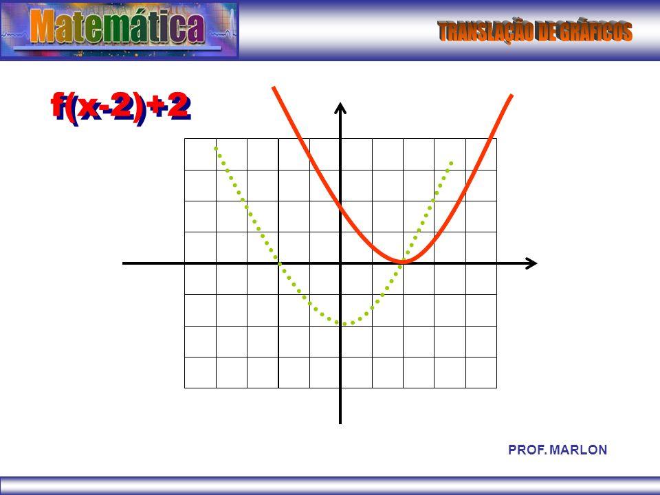 f(x-2)+2 PROF. MARLON
