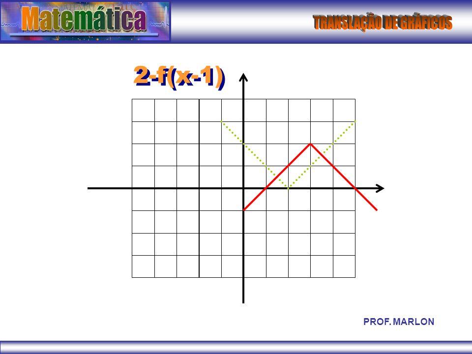 2-f(x-1) PROF. MARLON