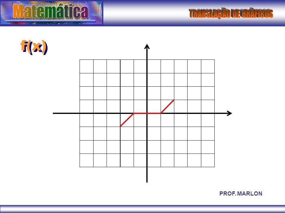 f(x) PROF. MARLON