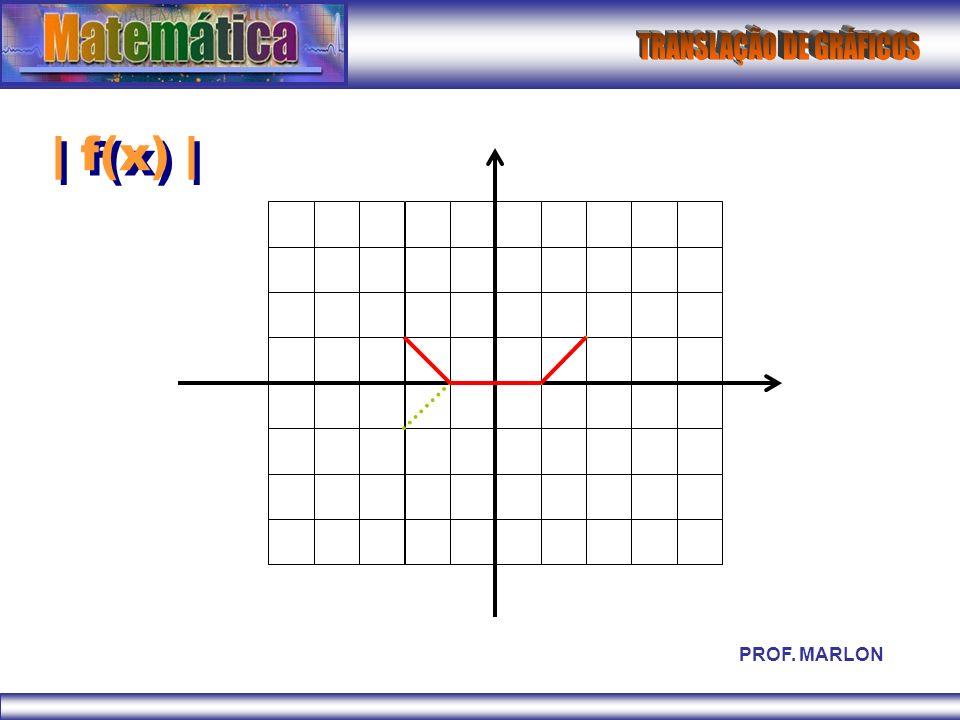 | f(x) | PROF. MARLON