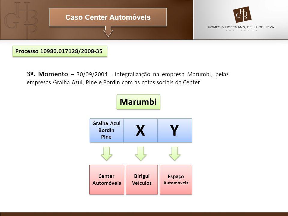 Caso Center Automóveis Marumbi Gralha Azul Bordin Pine Gralha Azul Bordin Pine Center Automóveis Birigui Veículos Espaço Automóveis Processo 10980.017