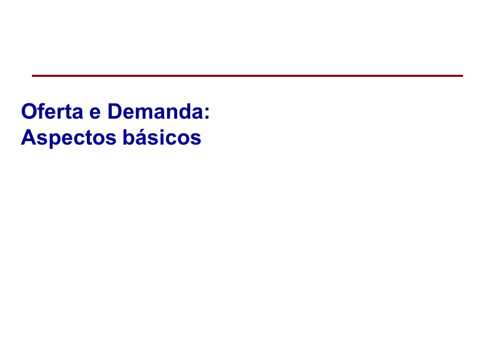 A curva de demanda de mercado e a lei da demanda Assim como a curva de demanda individual é negativamente inclinada, a curva de demanda de mercado também o é, refletindo a lei da demanda.