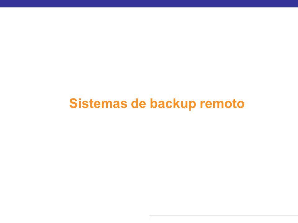 n Os sistemas de backup remoto oferecem alta disponibilidade, permitindo que o processamento de transação continue mesmo que o site primário seja destruído.