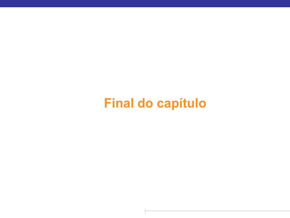 Final do capítulo