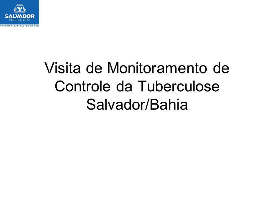 Tuberculose em Salvador Município prioritário, pois é a 3º capital em números de casos.