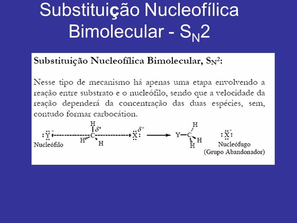 Substituição Nucleofílica Bimolecular - S N 2