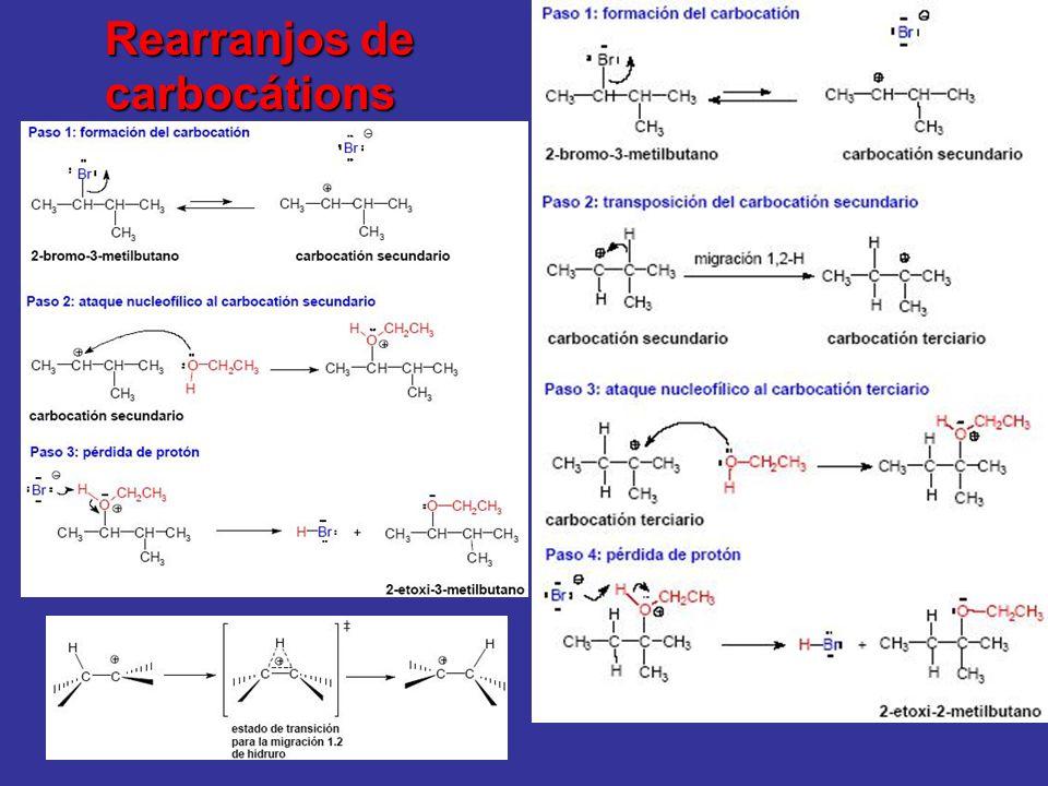 Rearranjos de carbocátions