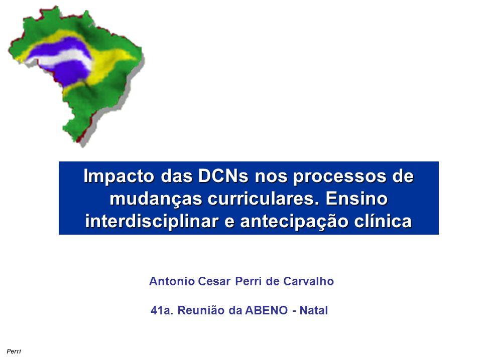 Perri Impacto das DCNs nos processos de mudanças curriculares.