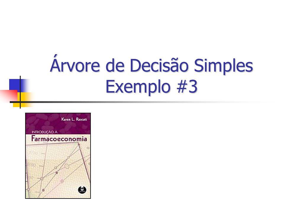 Árvore de Decisão Simples Exemplo #3