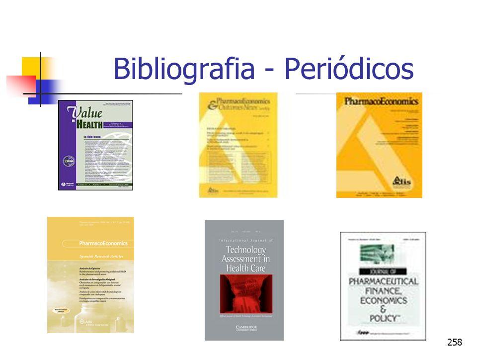 258 Bibliografia - Periódicos