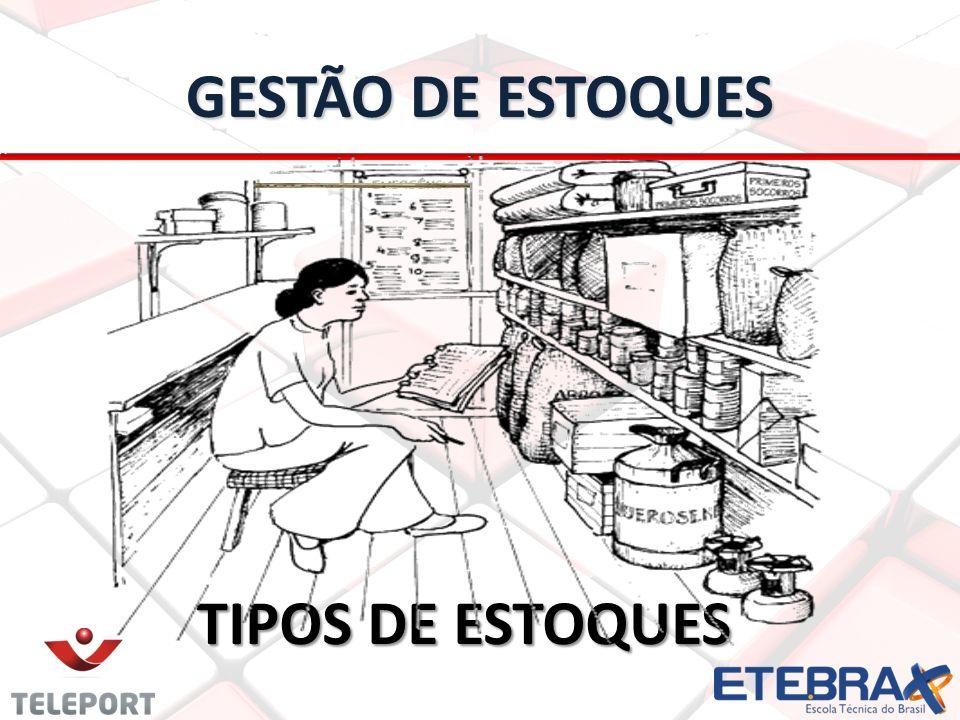 GESTÃO DE ESTOQUES TIPOS DE ESTOQUES TIPOS DE ESTOQUES