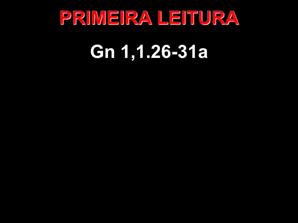 PRIMEIRA LEITURA Gn 1,1.26-31a
