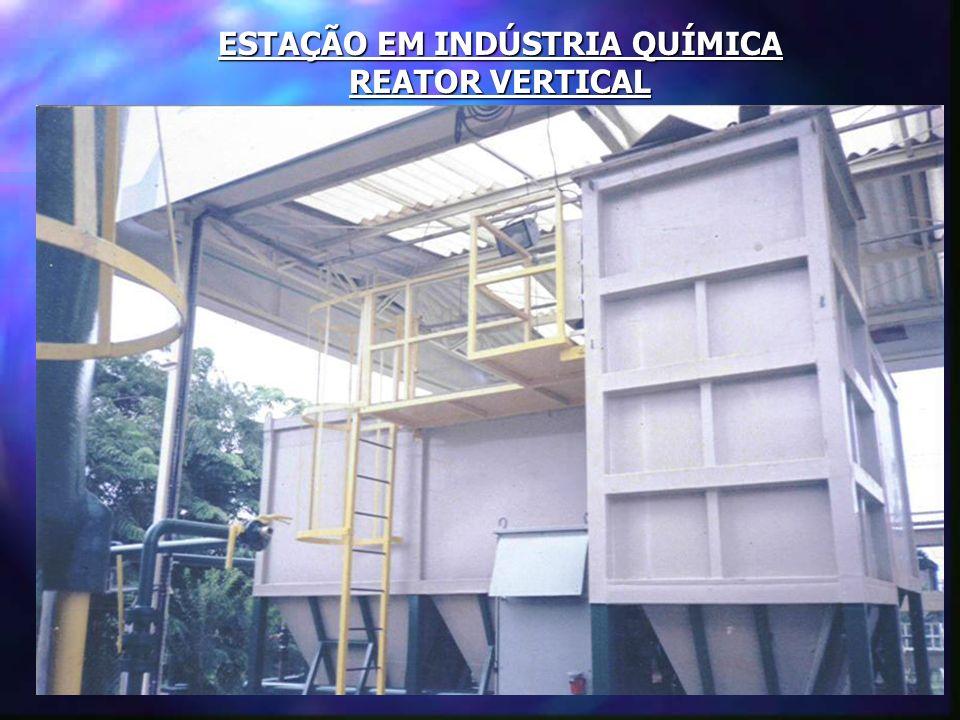 ESTAÇÃO EM INDÚSTRIA DE ALIMENTOS Vista geral da estação