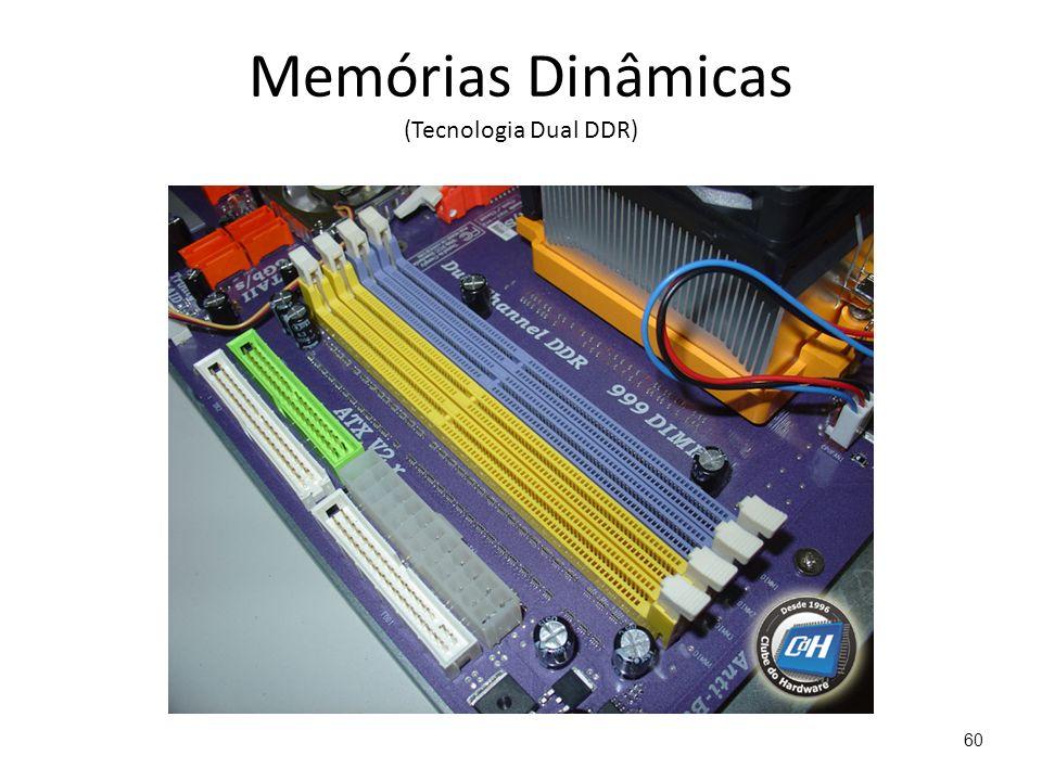 Memórias Dinâmicas (Tecnologia Dual DDR) 60