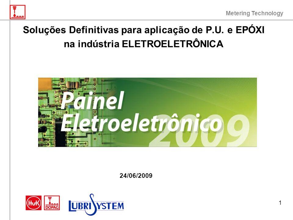 Metering Technology 1 Soluções Definitivas para aplicação de P.U. e EPÓXI na indústria ELETROELETRÔNICA 24/06/2009