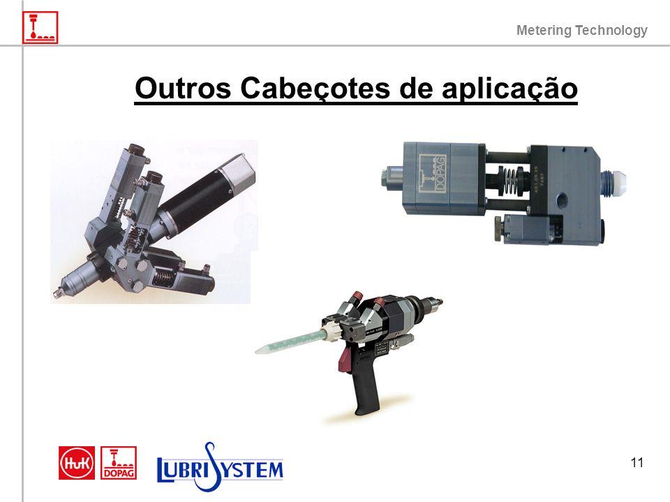Metering Technology 11 Outros Cabeçotes de aplicação