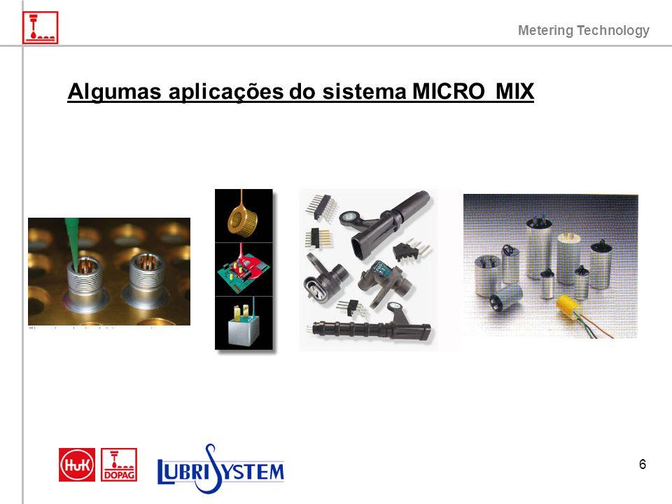 Metering Technology 6 Algumas aplicações do sistema MICRO MIX