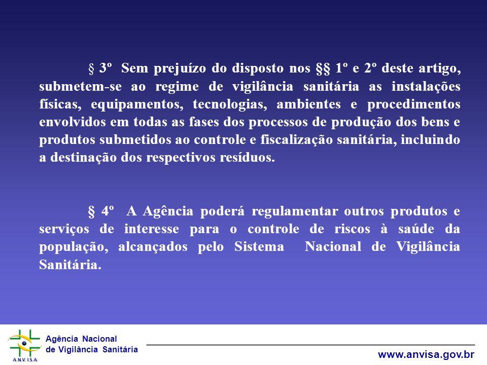 Agência Nacional de Vigilância Sanitária www.anvisa.gov.br LEI N° 6.437/1977 Art.