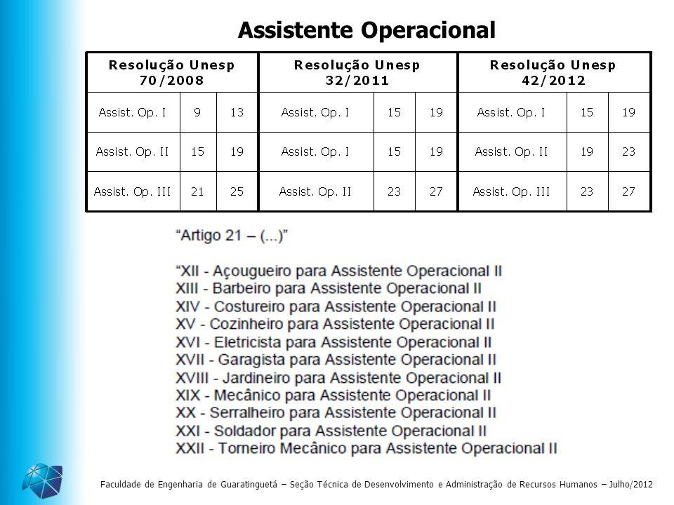 Assistente Operacional