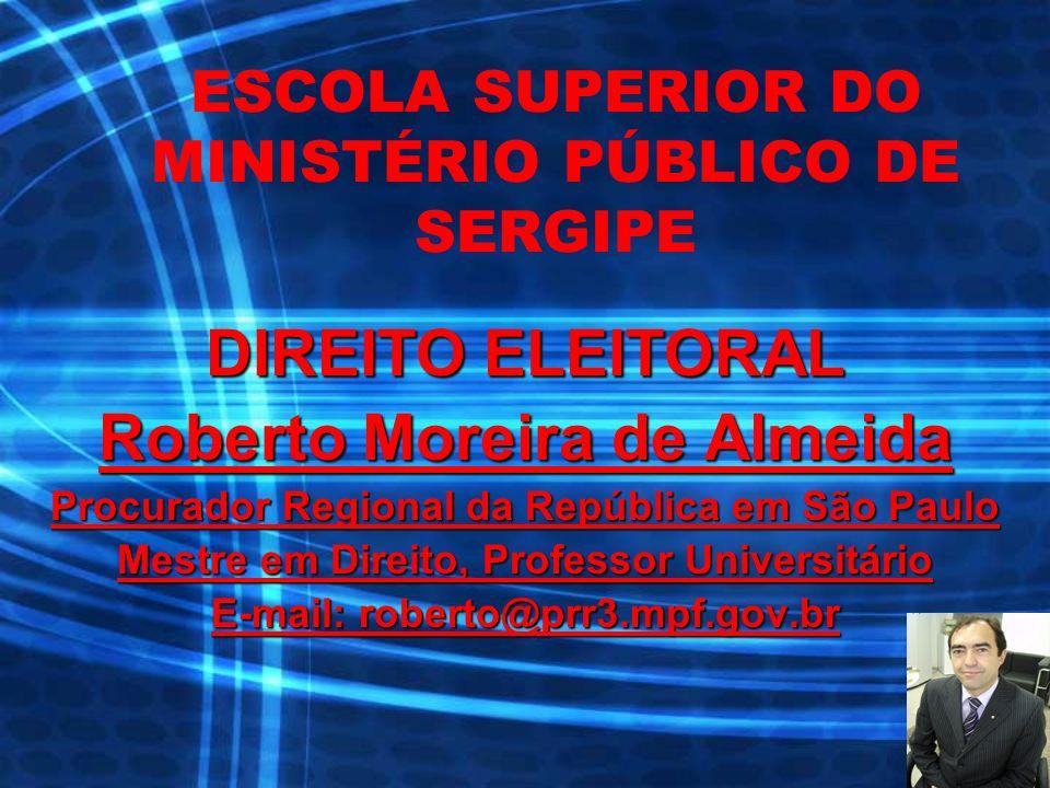 SUMÁRIO Parte introdutória: o MP e o processo eleitoral; Direitos Políticos; Registro de candidatos; Propaganda política; e Abuso de Poder.