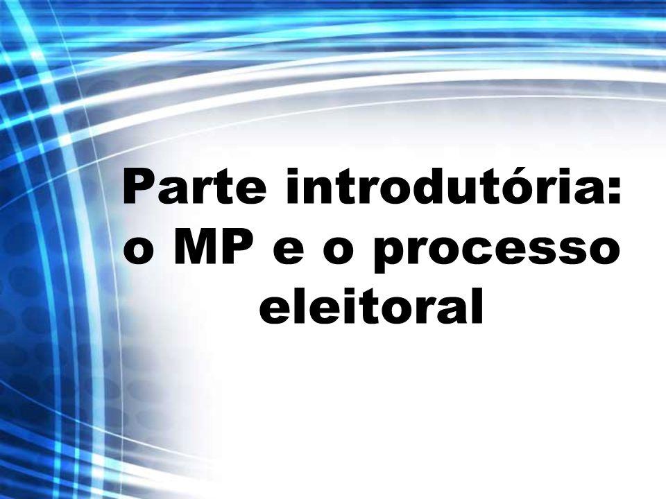 ATUAÇÃO DO PE Membro do MPE em cada zona eleitoral; Atua nos processos em tramitação nos juízos eleitorais de 1ª instância; Fiscaliza as eleições municipais.