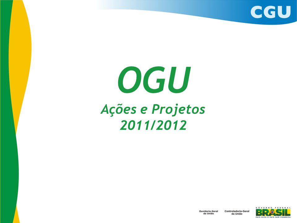 OGU Ações e Projetos 2011/2012